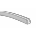 Уплотнитель для алюминиевых систем 4мм (П-образный)