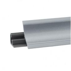 Плинтус для столешницы 3,05м алюминиевый гладкий 6521