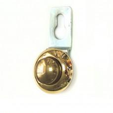 Подвеска для крепления зеркала сквозная, D=27мм, S=4-5мм, золото 2.03