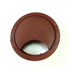 Розетка для компьютерного стола (коричневая)