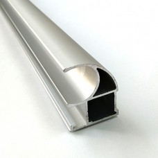"Асимметричная ручка CL ""серебро"" 2,7м"