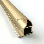"""Асимметричная ручка CL """"золото"""" 2,7м"""