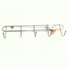 Вешалка овальная 5 крючков,  хром, ВК5-400