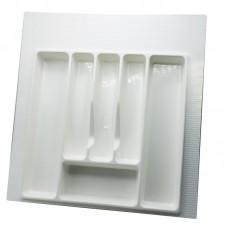 Вкладка д/столовых приборов 500 мм (белая)