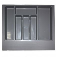 Вкладка д/столовых приборов 800 мм (серая)